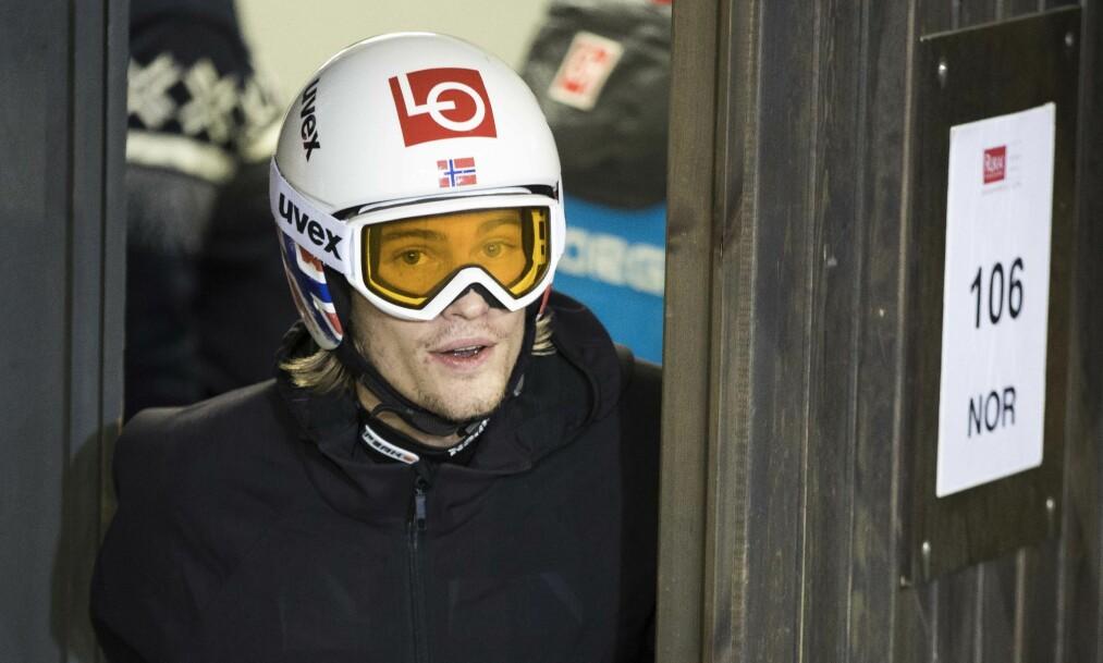 <strong>SKUFFET:</strong> 46. plass er langt unna standardene Daniel-André Tande søker. Foto: Terje Pedersen / NTB scanpix