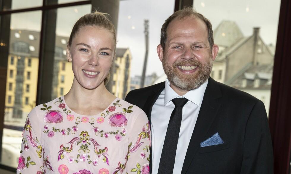 BLIR FORELDRE: Truls Svendsen (46) og kjæresten, Charlotte Smith (30) venter barn. Foto: Andreas Fadum