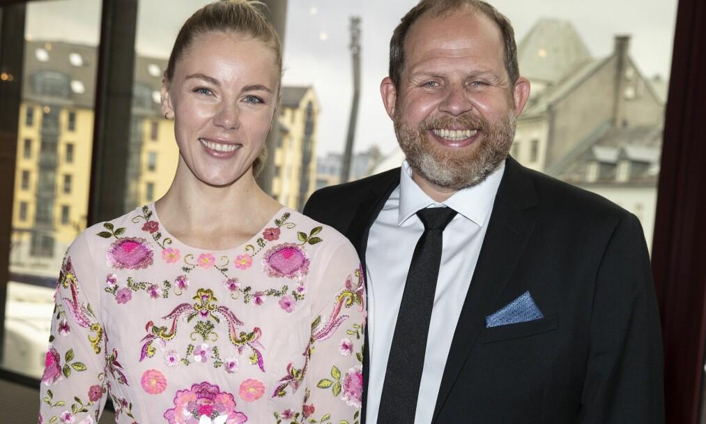 <strong>BLIR FORELDRE:</strong> Truls Svendsen (46) og kjæresten, Charlotte Smith (30) venter barn. Foto: Andreas Fadum