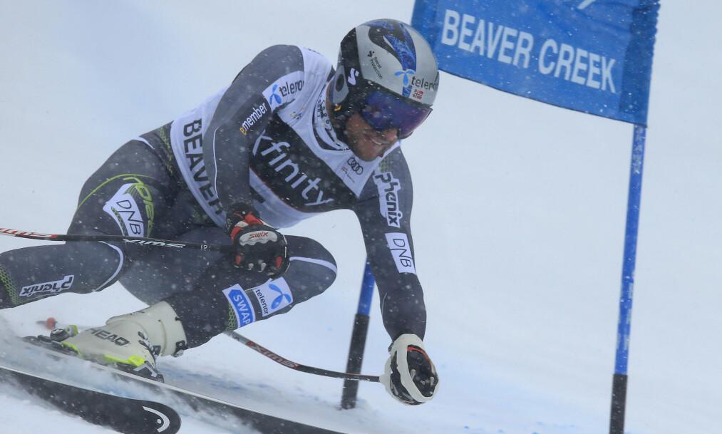 NY PALLPLASS: Aksel Lund Svindal kjørte ned til delt 3. plass. Foto: NTB scanpix