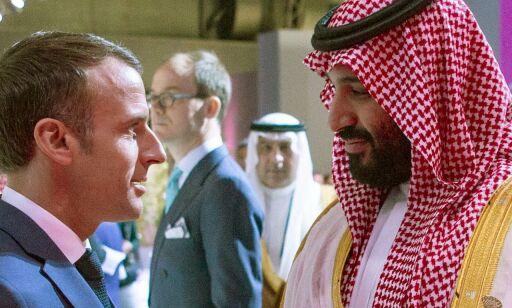 image: Macron til drapsanklaget kronprins: - Du hører aldri