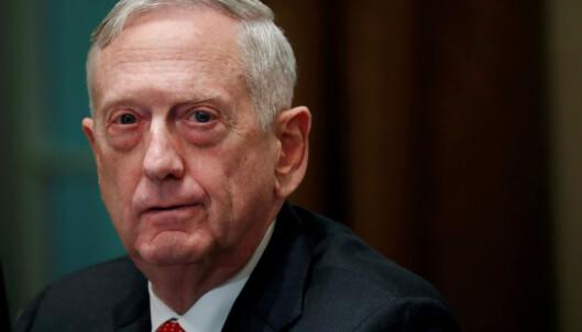 USAs forsvarsminister: Russland prøvde å blande seg i mellomvalget