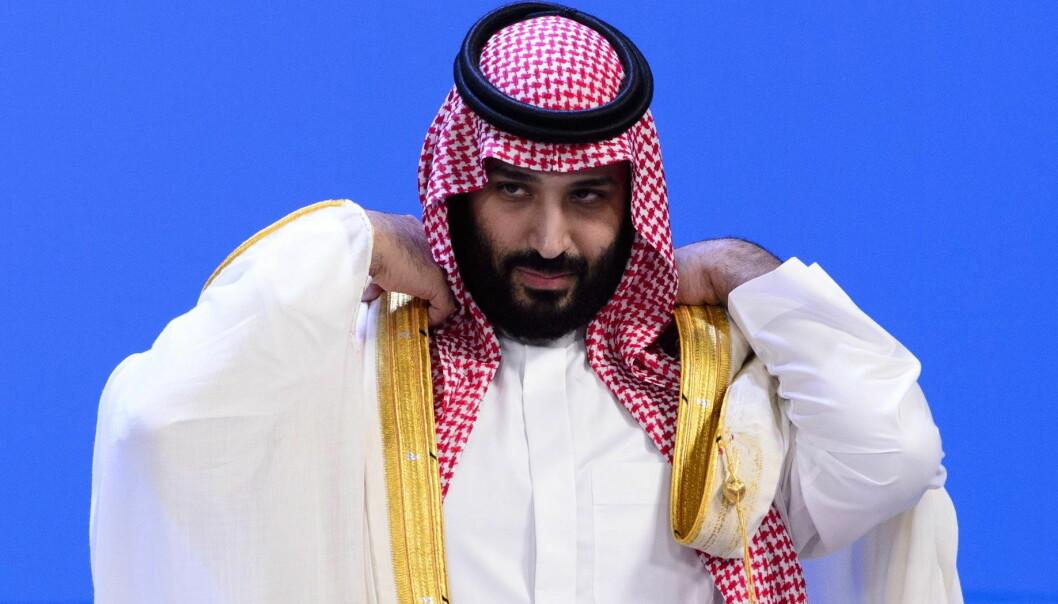 PÅ G20-TOPPMØTE: Saudi Arabias kronprins Mohammed Bin Salman på toppmøtet i Buenis Aires fredag mellom 19 land med ledende økonomi pluss EU. Foto: Sean Kilpatrick, The Canadian Press/NTB Scanpix.