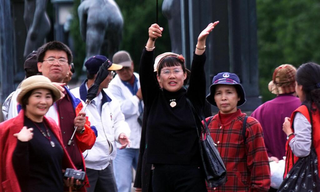 ÅPNER FOR FLERE: Langt flere kinesere får nå enklere tilgang til å søke visum til Norge. Foto: NTB Scanpix
