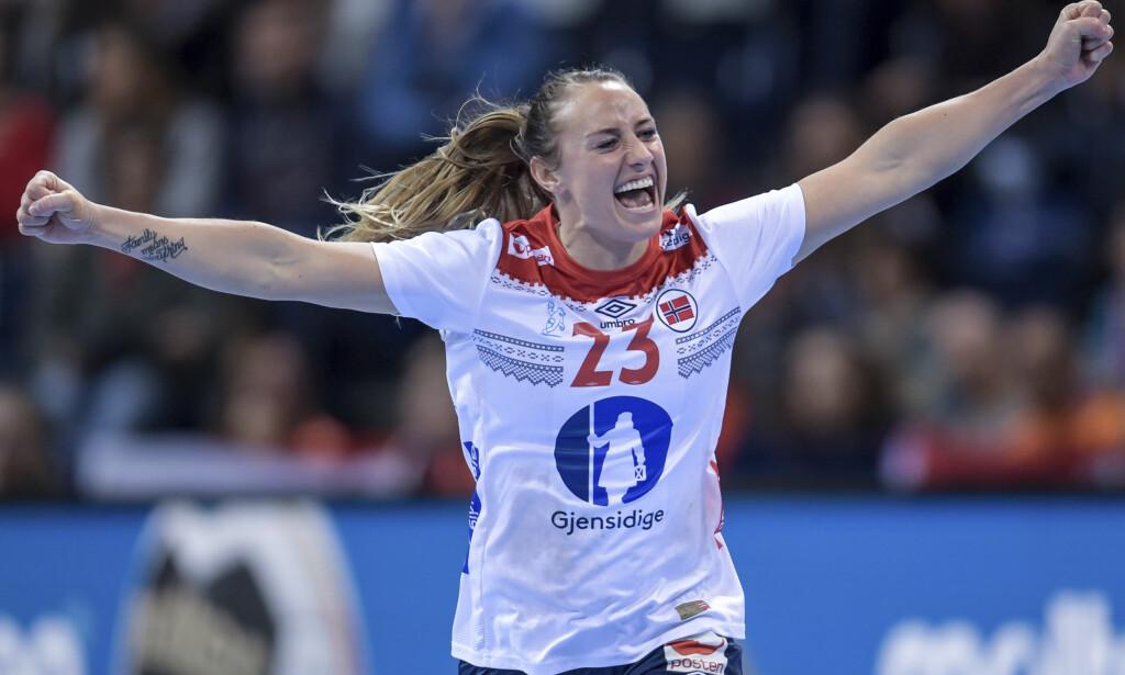 TILBAKE?: Camilla Herrem slutter seg til den norske EM-troppen i dag, ifølge TV 2. Foto: Axel Heimken / AP / NTB Scanpix.