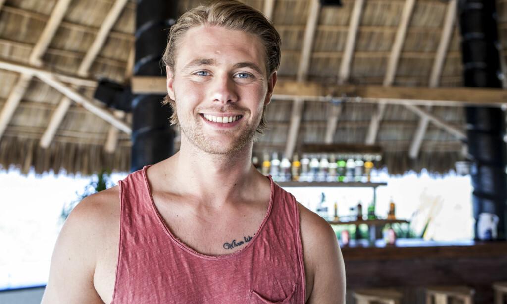 SLÅTT NED: Marius Pettersen ble en populær fyr etter å ha vært med i årets sesong av «Paradise Hotel». Natt til lørdag opplevde han derimot marerittet, da han ble overfalt av tre menn på et utested i Drammen. Foto: Marie Røssland