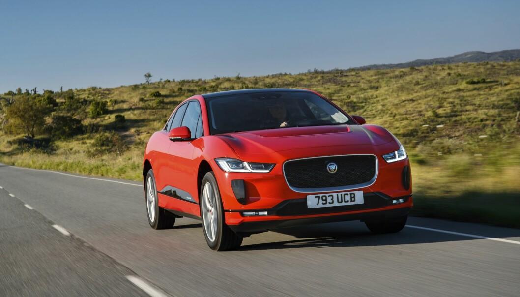 Årets Bil 2019: Seieren gikk i år nok en gang til en elbil, Jaguar i-Pace. Foto: Jaguar