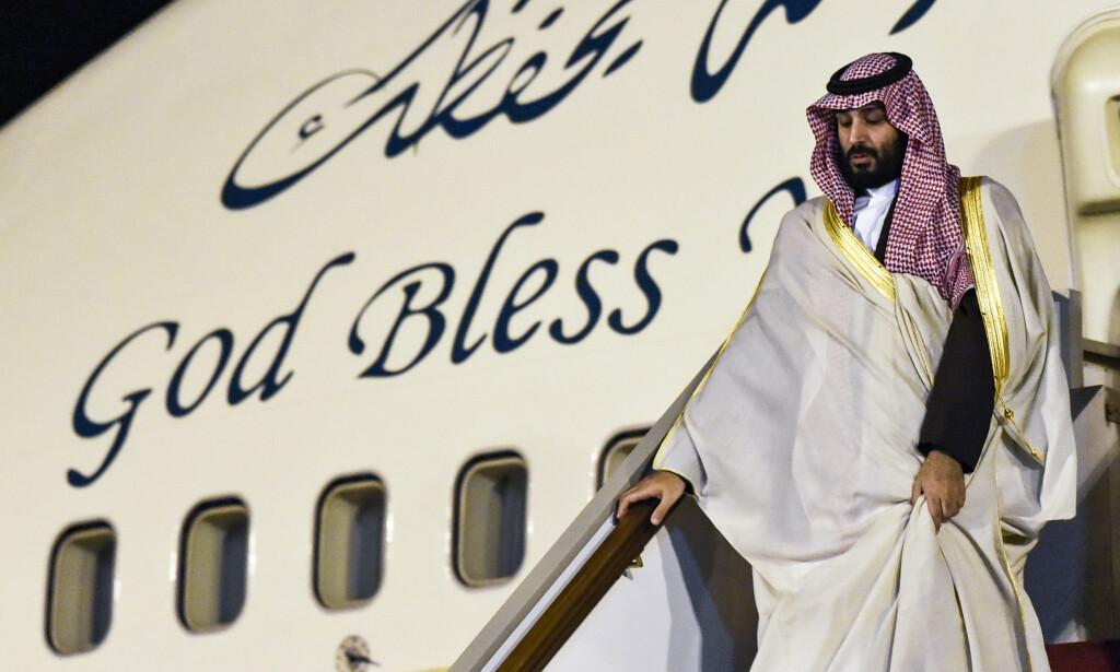 BØR ETTERFORSKES: En fersk FN-rapport fastslår at Saudia-Arabias kronprins Mohammed bin Salman bør etterforskes for mulig deltakelse i drapet på regimekritikeren Jamal Khashoggi. (Foto: RYAD KRAMDI / AFP)
