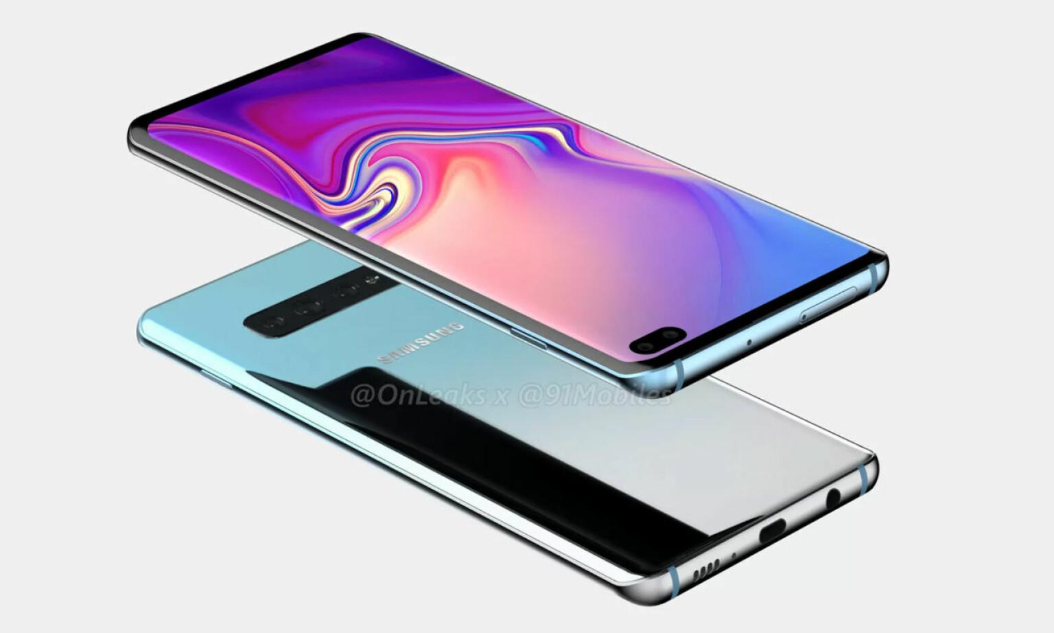 HODETELEFON-UTGANG: Og så ser det fremdeles ut til at Samsung beholder hodetelefon-utgangen på sin toppmodell. Foto: OnLeaks/91 Mobiles