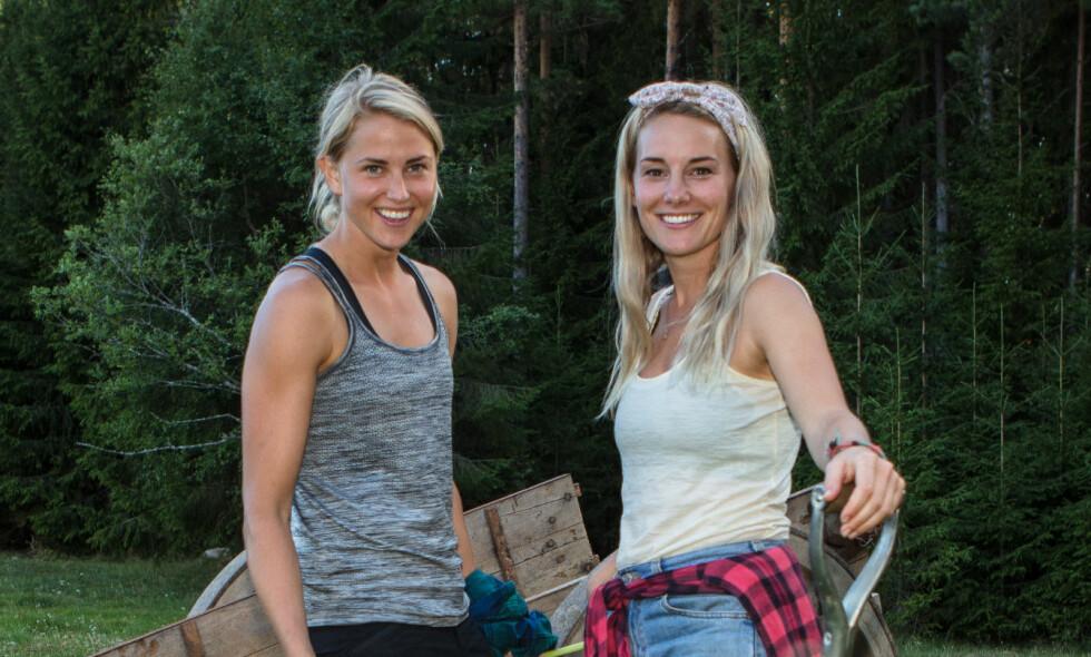 HATBREV: Mandag fikk Lene Sleperud, kjent fra «Farmen», et brev i posten med grove anklagelser mot henne og kjæresten Tonje Frøystad Garvik. Foto: TV 2