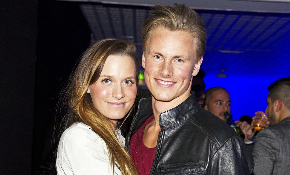 TOBARNSFORELDRE: Anja Johansen og Lavrans Solli er blitt foreldre for andre gang. Foto: Andreas Fadum/Se og Hør