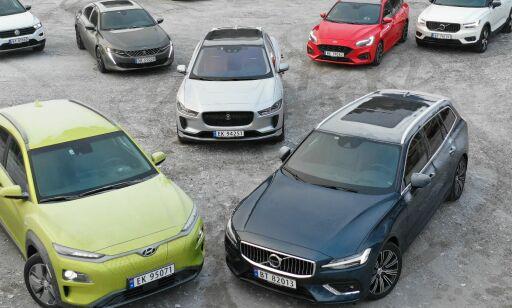 image: Elbil-dominans i Årets bil 2019