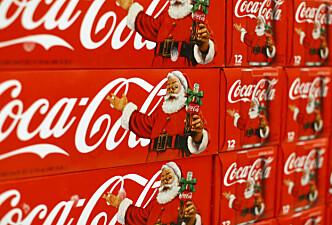 COLANISSEN: Det var illustratør Haddon Sundblom som formgav Santa Claus, slik vi kjenner ham i dag, i en Coca-Cola-reklame på 30-tallet. Illustrasjonsfoto: NTB Scanpix
