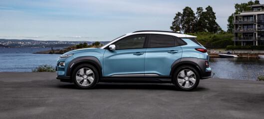 Også Hyundai Kona må nedjustere rekkevidden