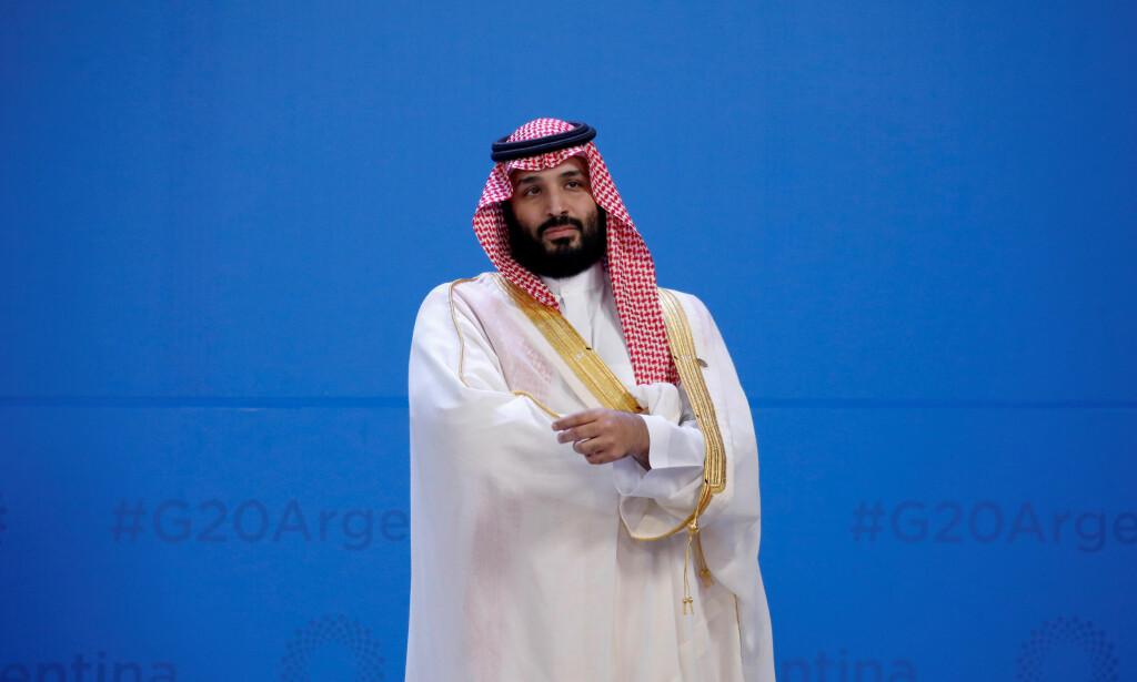 MISTENKES: Amerikanske senatorer raser mot Saudi-Arabias kronprins, Mohammed bin Salman, og er ikke i tvil om at han beordret drapet på journalisten Jamal Khashoggi. Foto: REUTERS / Andres Martinez Casares / NTB scanpix