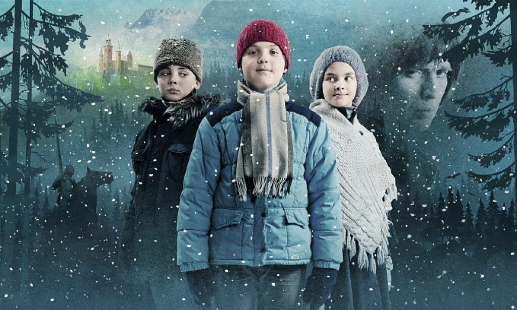 UNGE TALENTER: Alle hovedrollene i «Julekongen» var spilt av barn. Foto: Jørn Veberg/NRK