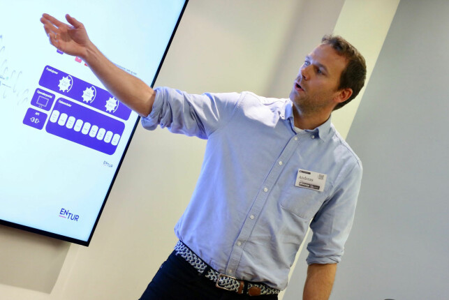 Prosjektleder Andreas Tryti fra Webstep tror det er flere grunner til at open source har hjulpet Entur-prosjektet. 📸: Webstep
