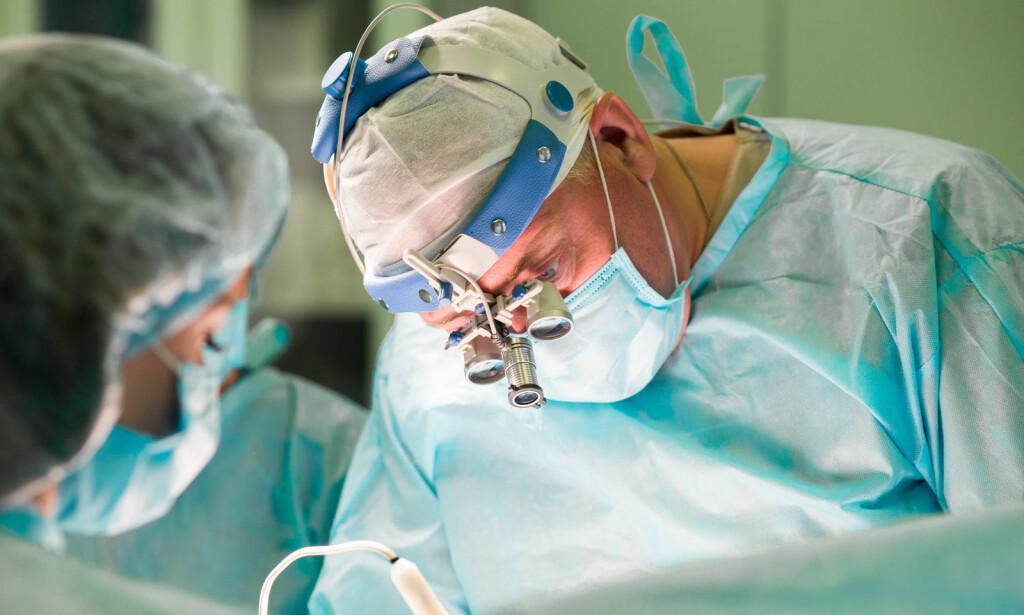 PLASTISK KIRURGI: En egen spesialitet innenfor medisin. Foto:NTB Scanpix/Shutterstock