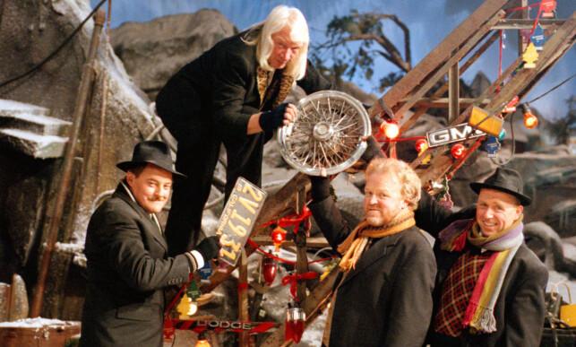 GJENGANGER: «Vazelina Hjulkalender» ble vist fire ganger på TV mellom 2000 og 2009. Foto: TV 2