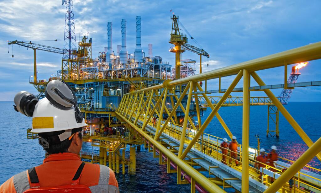 GODE PENSJONSORDNINGER: Olje- og gassbransjen, hovedsakelig operatørbedriftene, har arbeidstakerne som får blant de beste pensjonsordningene, ifølge Frende Forsikring. Foto: Shutterstock/NTB Scanpix.