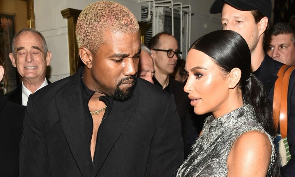 <strong>BEKYMRET FOR KANYE:</strong> Rapper Kanye West sin tidligere stefar, Ulysses Blakeley, mener Kardashian-klanen er grunnen til Kanyes kontroversielle uttalelser. Foto: NTB scanpix