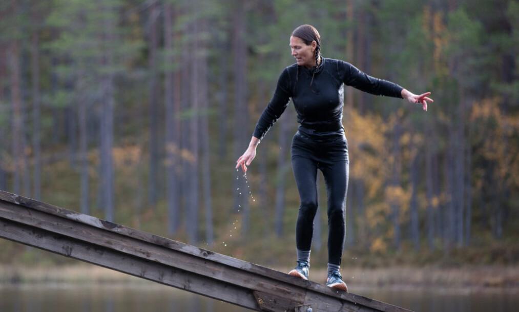 SKUFFA: Dineke Polderman (46) var blant dem som måtte forlate «Farmen» onsdag kveld, bare dager før finalen. Selv er hun skuffa over eget resultat. Foto: Alex Iversen / TV 2
