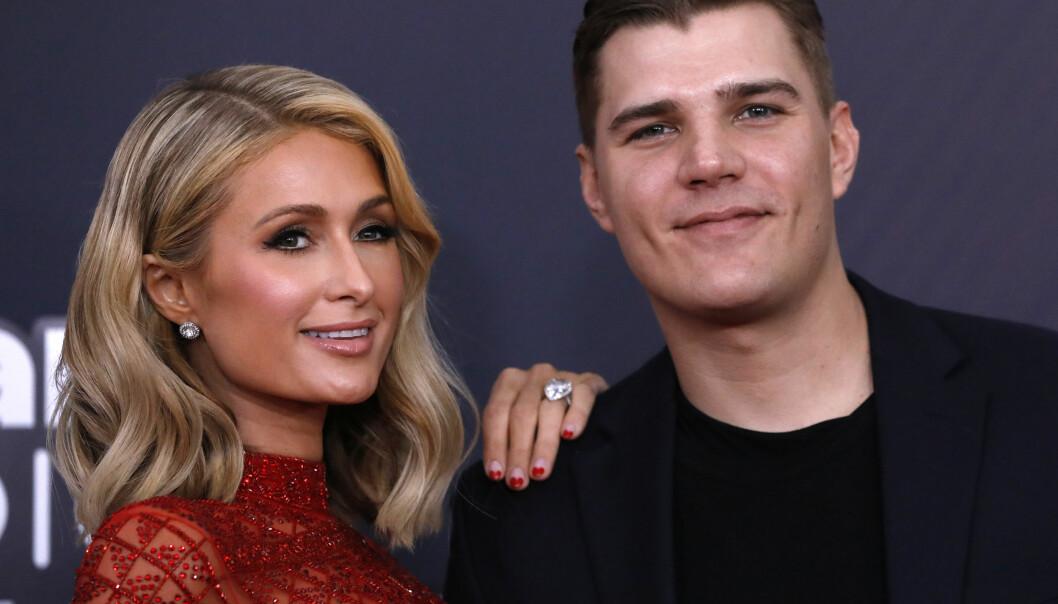 SA JA – NÅ ER DET SLUTT: Paris Hilton brøt forlovelsen med Chris Zylka i høst. FOTO: Scanpix