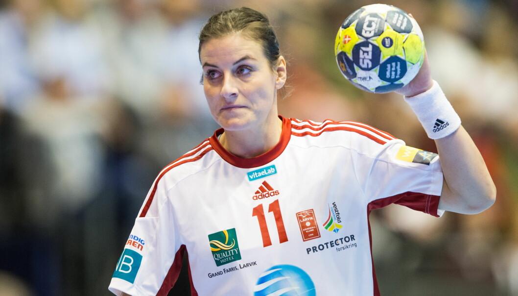 LEGGER OPP: Linn-Kristin Riegelhuth Korenhar bestemt seg for å avslutte håndballkarrieren. Foto: Audun Braastad / NTB scanpix