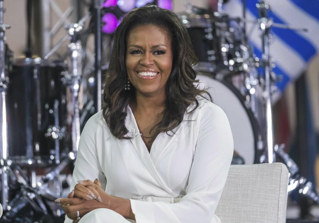 MICHELLE OBAMA: Vi har latt oss inspirere av den tidligere førstedamen. Foto: Scanpix