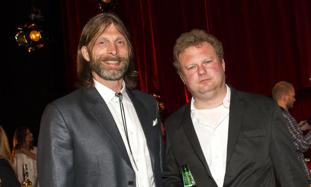 ULLARED: Morgan til høyre og Ola-Conny til venstre er en kjent duo fra TV-serien Ullared. Foto: Aftonbladet / IBL Bildbyrå