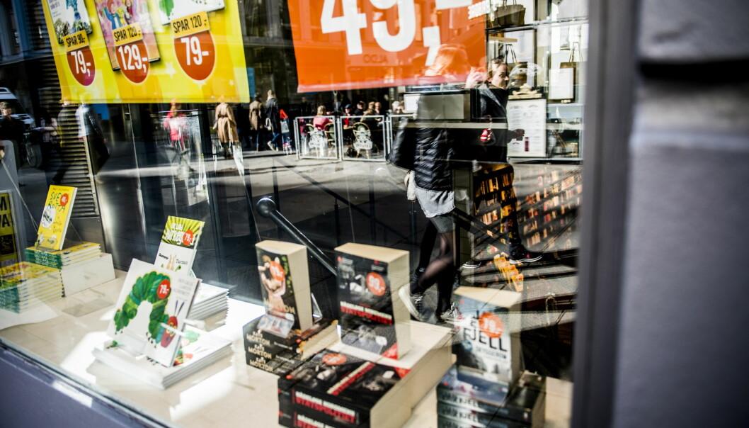 KOMMER UT SAMTIDIG: De aller fleste bøker som egner seg for e-bokutgivelse publiseres parallelt som e-bok og papirbok, skriver innsenderen. Foto: Thomas Rasmus Skaug / Dagbladet