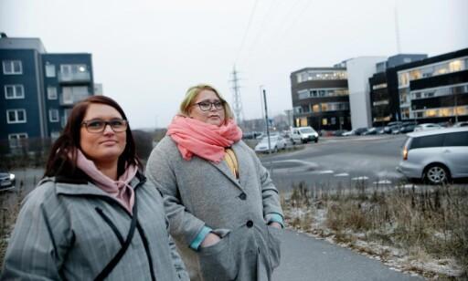 - IKKE REDDE: Naboen Ingvil Faanes og Pia Sotkkajærvi bor like ved politihuset. Foto: Anita Arntzen/Dagbladet