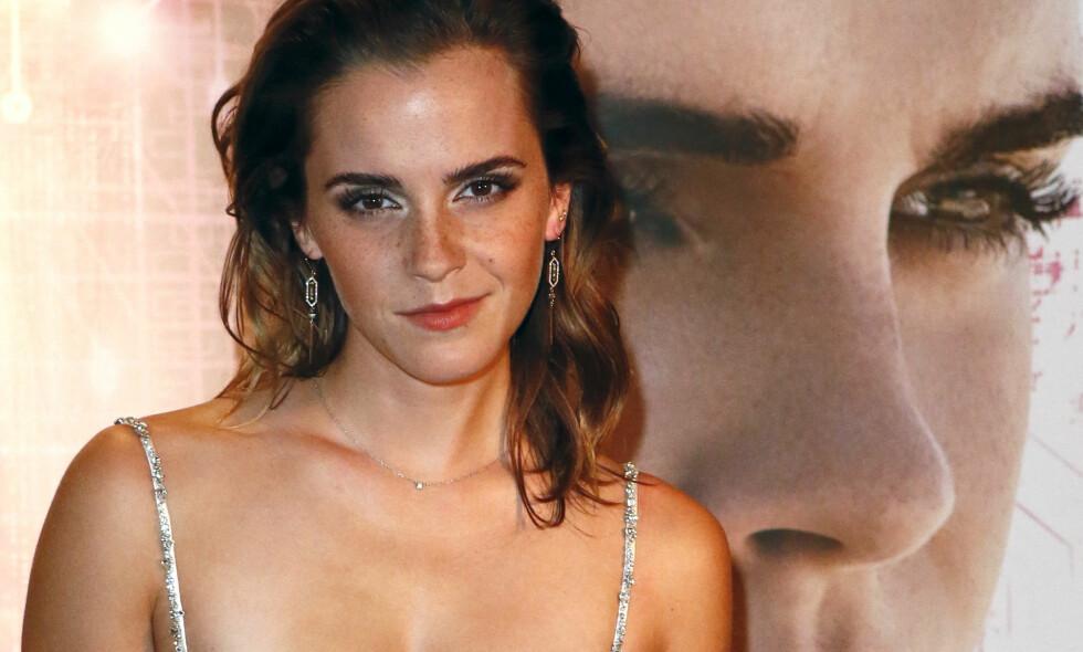 FORVIRRING RUNDT INSTAGRAM-BILDE: Da Emma Watson onsdag la ut et bilde av en naken kvinnekropp på Instagram, raste det inn med forvirrede kommentarer. Foto: NTB Scanpix
