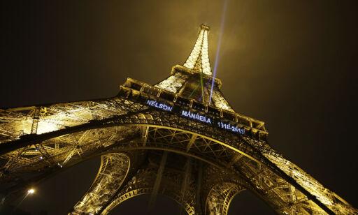 image: Frankrike stenger Eiffeltårnet