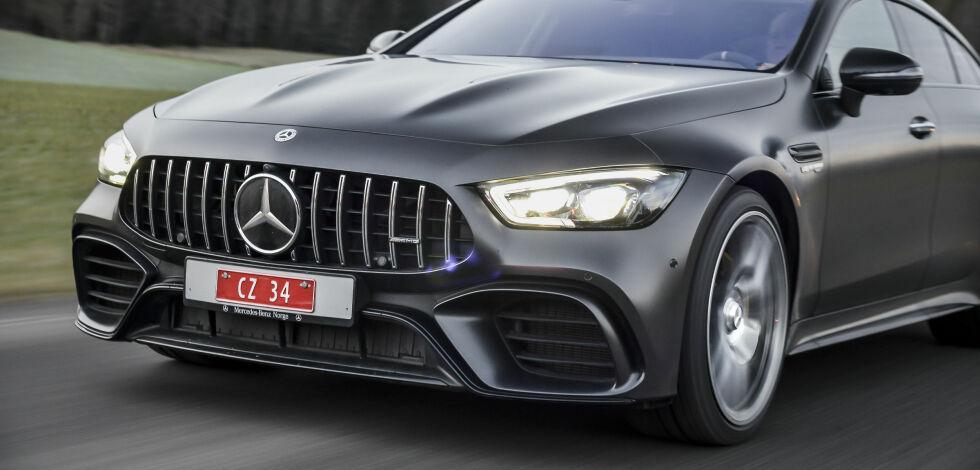 image: Vi har kjørt verdens raskeste Mercedes