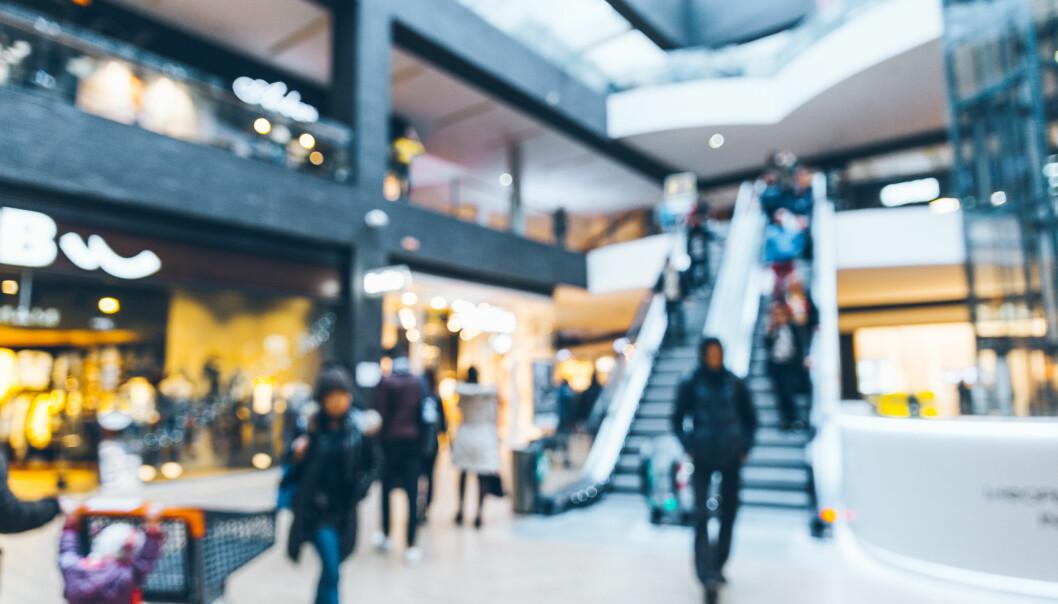 <strong>SHOPPEPAUSE:</strong> Virke mener nedgang i handelstallene viser at folk tar en liten pust i bakken etter black friday-uken. Foto: Shutterstock/NTB Scanpix.
