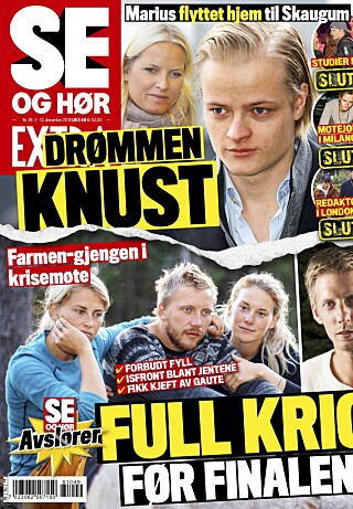 OMTALER SAKEN: Det er i ukens Se og Hør Extra at Marius Borg Høibys tapte jobb omtales. Foto: Faksimile fra Se og Hør