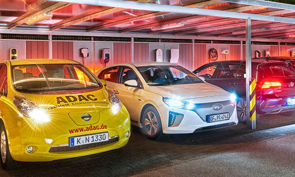 ADAC har testet ladeboksene på sikkerhet, brukervennlighet og pålitelighet. Foto: ADAC.de
