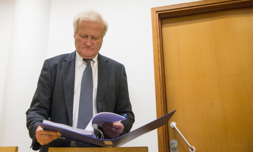FORSVARER: Kristin Kirkemos advokat, Tor Kjærvik. Foto: Berit Roald / NTB scanpix