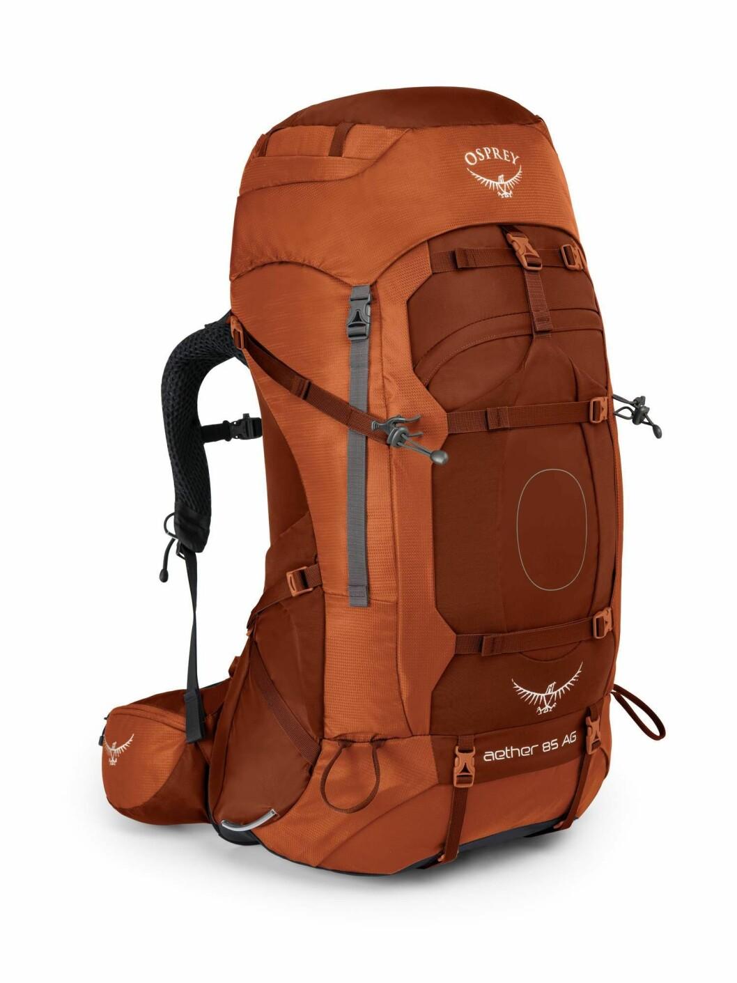 Sekk fra Osprey |2690,-| https://chillout.no/collections/tur-og-fjellsekker/products/osprey-aether-ag-85