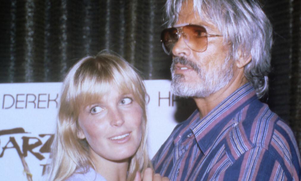 STOR ALDERSFORSKJELL: Bo Derek var bare 16 år gammel da hun møtte mannen i sitt liv, John Derek - som var 30 år eldre enn henne. Foto: NTB Scanpix