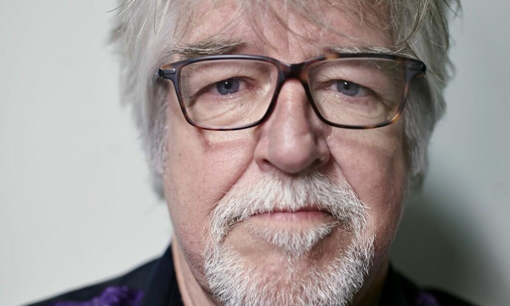TAKKER FOR SEG: Vokalist Tore Halvorsen er ferdig i Ole Ivars. Foto: Geir Dokken