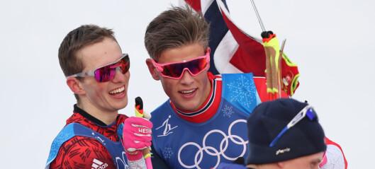 Spitsov spydde to ganger under løpet - og avsluttet nest raskest av alle