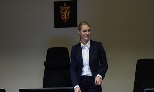 LUKKET DØRENE: Dommerfullmektig Pia Skjørshammer Klafstad. Foto: John Terje Pedersen / Dagbladet