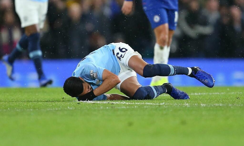 SNUBLET: Riyad Mahrez og Manchester City tapte sin første kamp for sesongen. Foto: MICHAEL ZEMANEK/BPI/REX/SHUTTERSTOCK