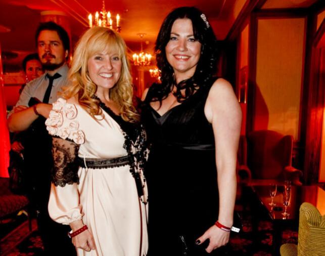 SPELLEMANNPRISEN: Marianne sammen med Hanne Krogh i 2009. Foto: NTB Scanpix