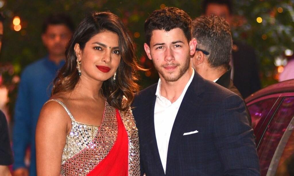 NYGIFT: Nick Jonas og Priyanka Chopra giftet seg tidligere denne måneden. Nå har de gitt sitt første intervju som ektepar. Foto: NTB scanpix