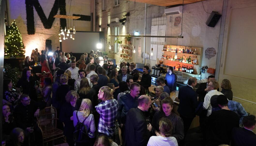 STAPPA: Mange hadde møtt opp for å få med seg årets finale. Foto: John Terje Pedersen / Dagbladet