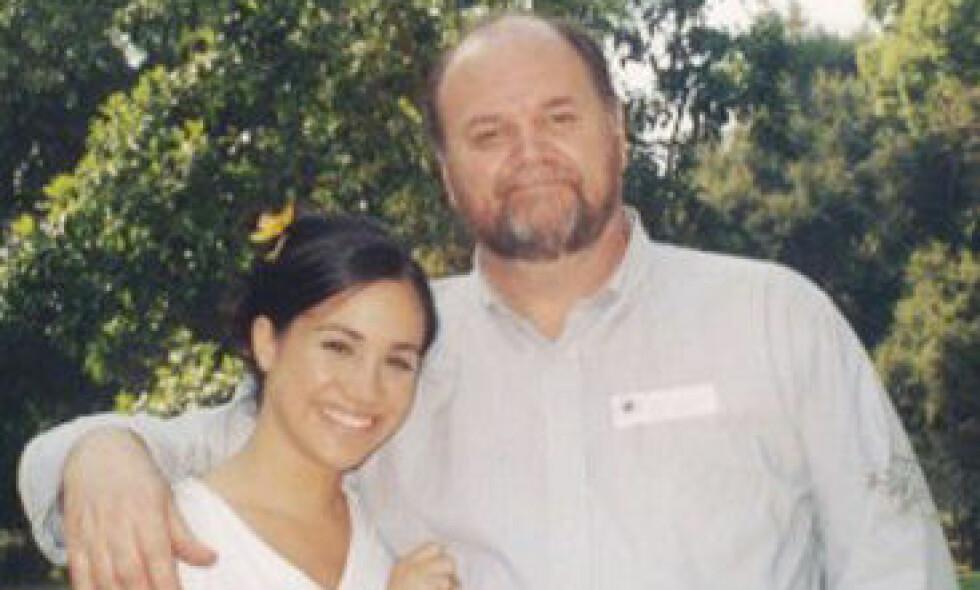SAVNER DATTEREN: Thomas Markle har enda ikke oppnådd kontakt med dattera Meghan siden hun i mai giftet seg inn i den britiske kongefamilien. Foto: NTB Scanpix