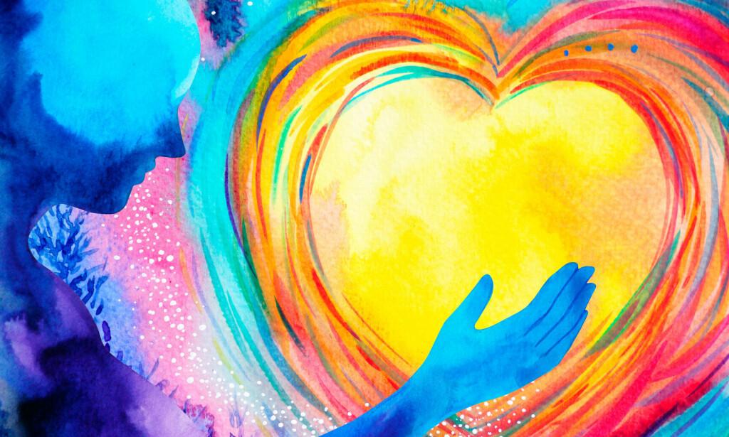 PSYKISK HELSE: En opplevelse av å ha det bra, kan være en forenklet forklaring på hva psykisk helse er. Sosial kontakt og god fysisk helse er også sterkt knyttet sammen med psykisk helse. Illustrasjon: NTB Scanpix/Shutterstock.